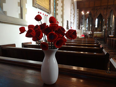 Bayford remberence poppies 2018.JPG