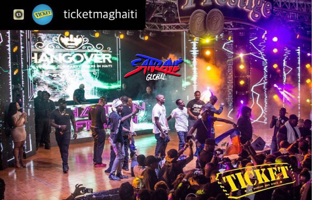 picture courtesy of @ticketmaghaiti