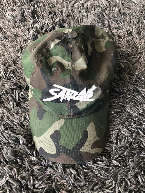 Sanzave Camo Embroidered Cap