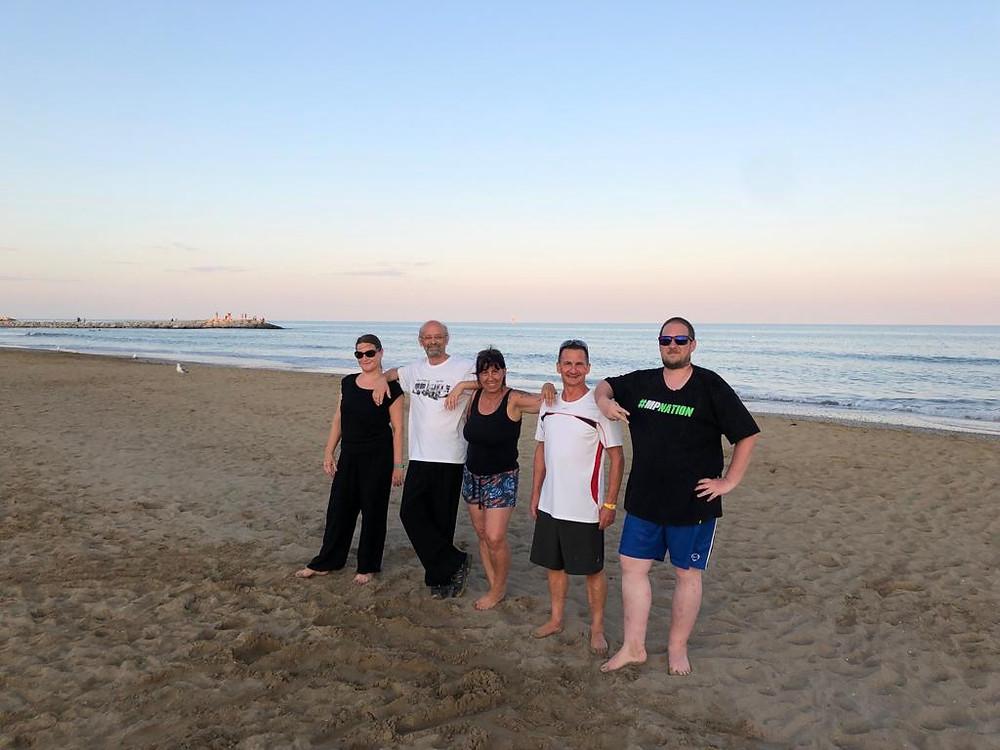 2 Wochen Training am Strand mit tollen Menschen!