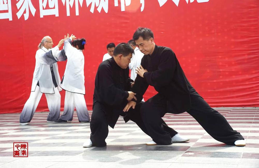 Toushui-Form mit dem Meister Shen Xijing und Li zun zki