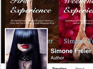 Simone Freier FaceBook Page - 5000 Followers!