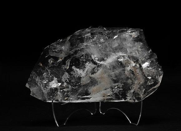 Tabby Tabular Flat Healed Quartz Crystal