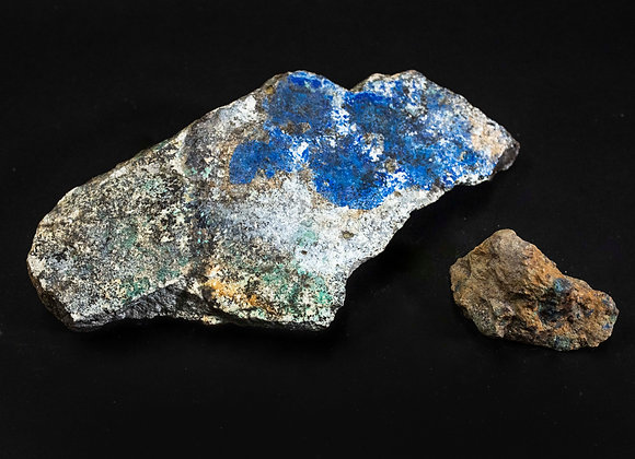 Uncut Azurite Rock Specimen