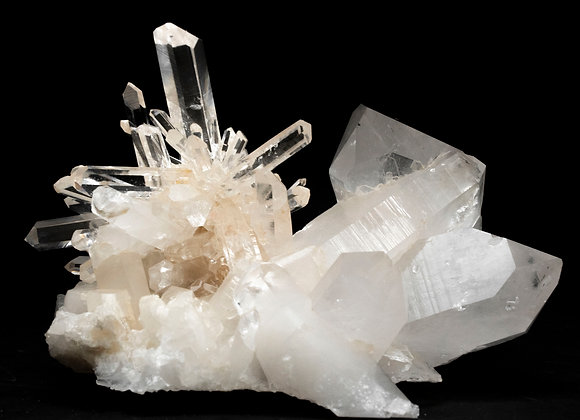 Arkansas Quartz Crystal Cluster Multiple Points