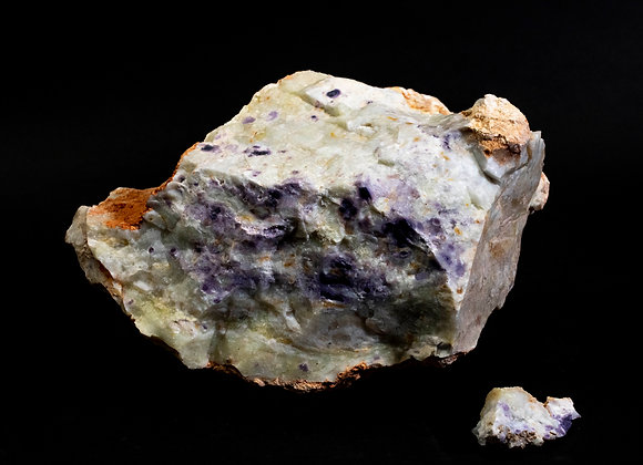 Natural Uncut Mexican Opal (Purple) Sold In Bulk