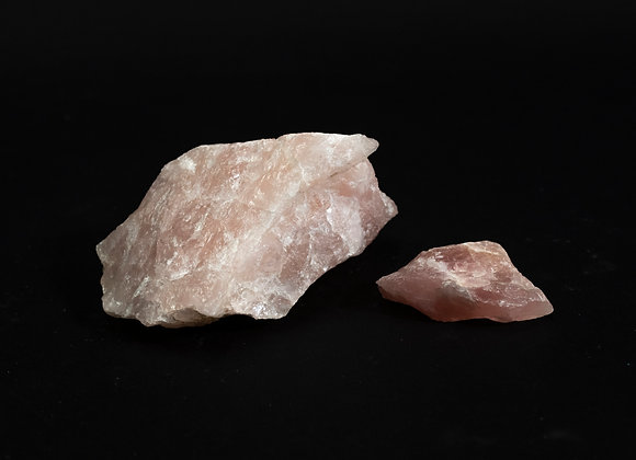 Natural Raw Rose Quartz Rock Specimen