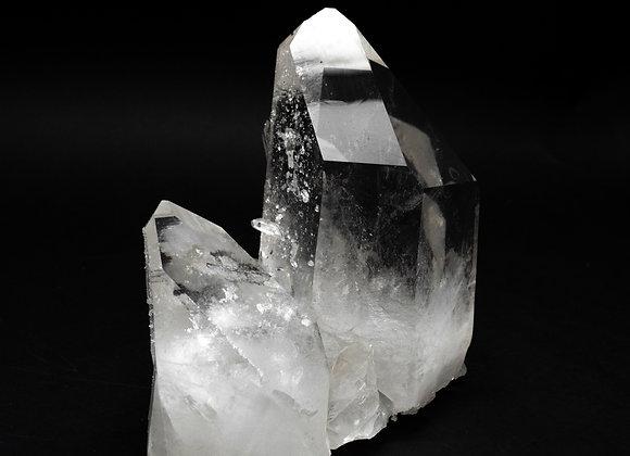 Phantom Crystal In Quartz Crystal Clusterr