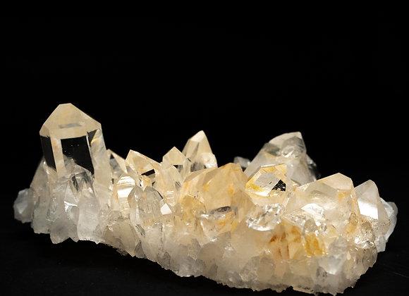 Multiple Point Arkansas Quartz Crystal Cluster