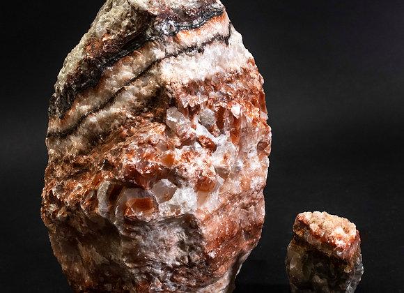Tri Color Calcite Rock Specimen Small And Large