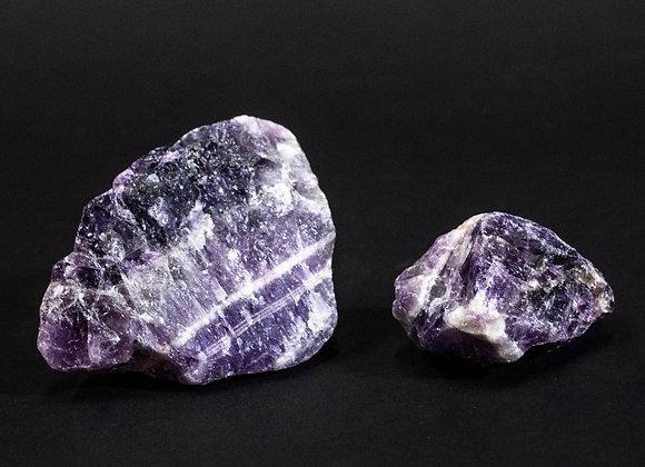Chevron Amethyst Rough Uncut Stones Sold In Bulk