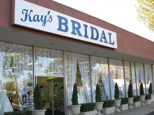 Kay's Bridal storefront