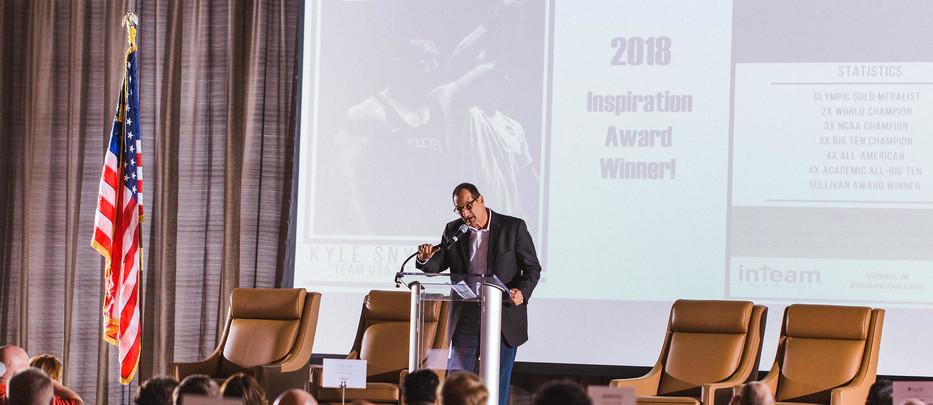 Rye D'Orazio - inTeam 2018 Inspiration Award Ceremony