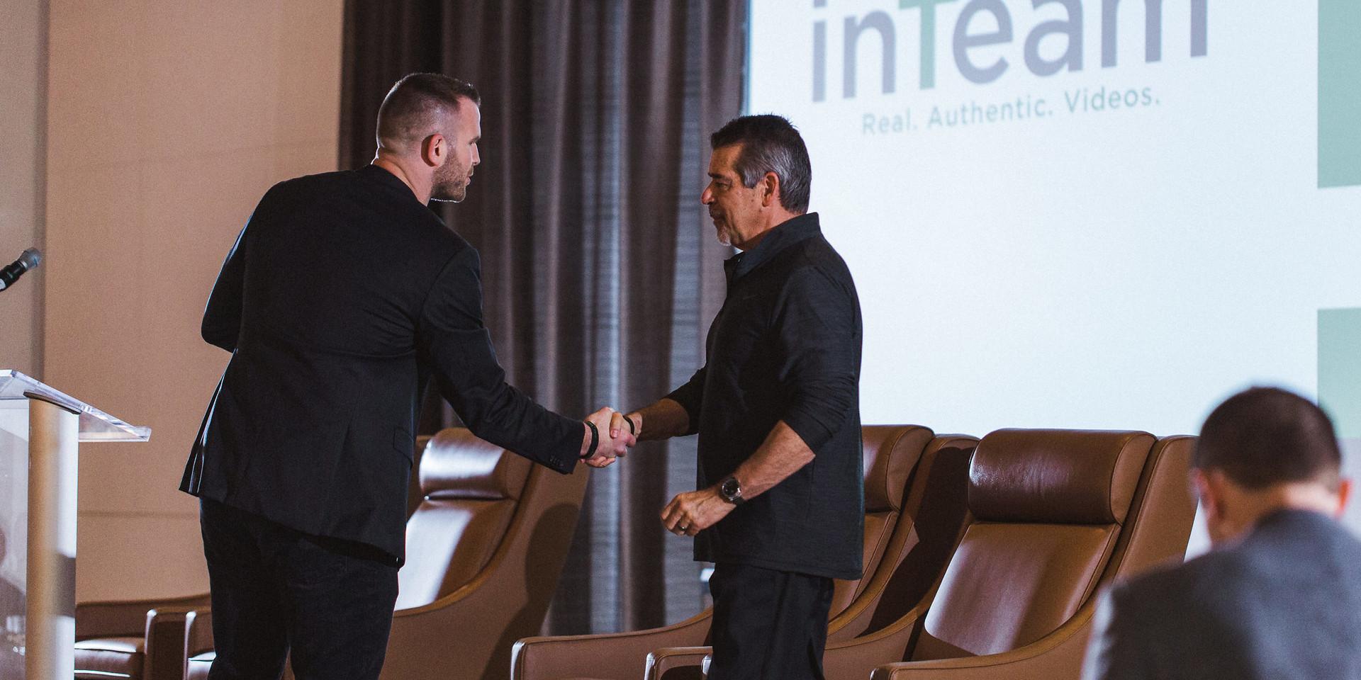 Tim Kight - inTeam 2018 Inspiration Award Ceremony