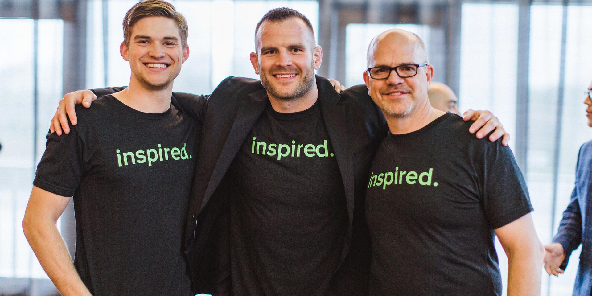 JD & inTeamers - inTeam 2018 Inspiration Award Ceremony