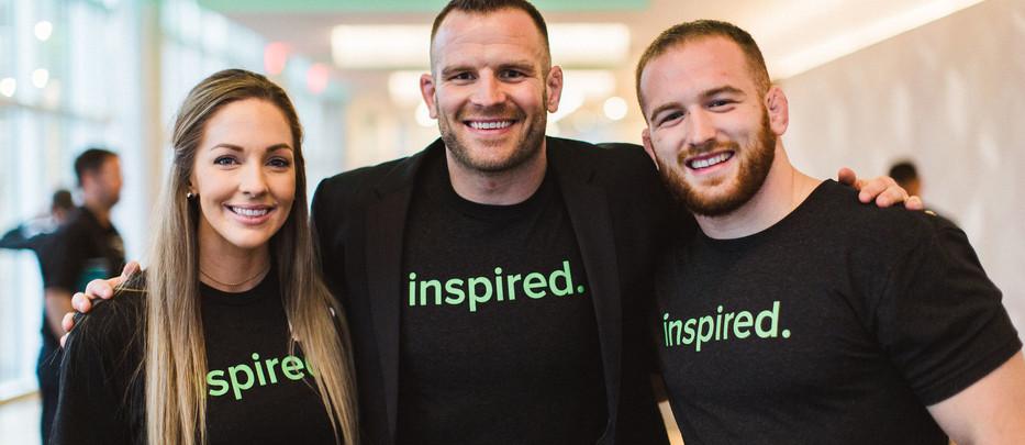 Kyle, JD, & Victoria - inTeam 2018 Inspiration Award Ceremony