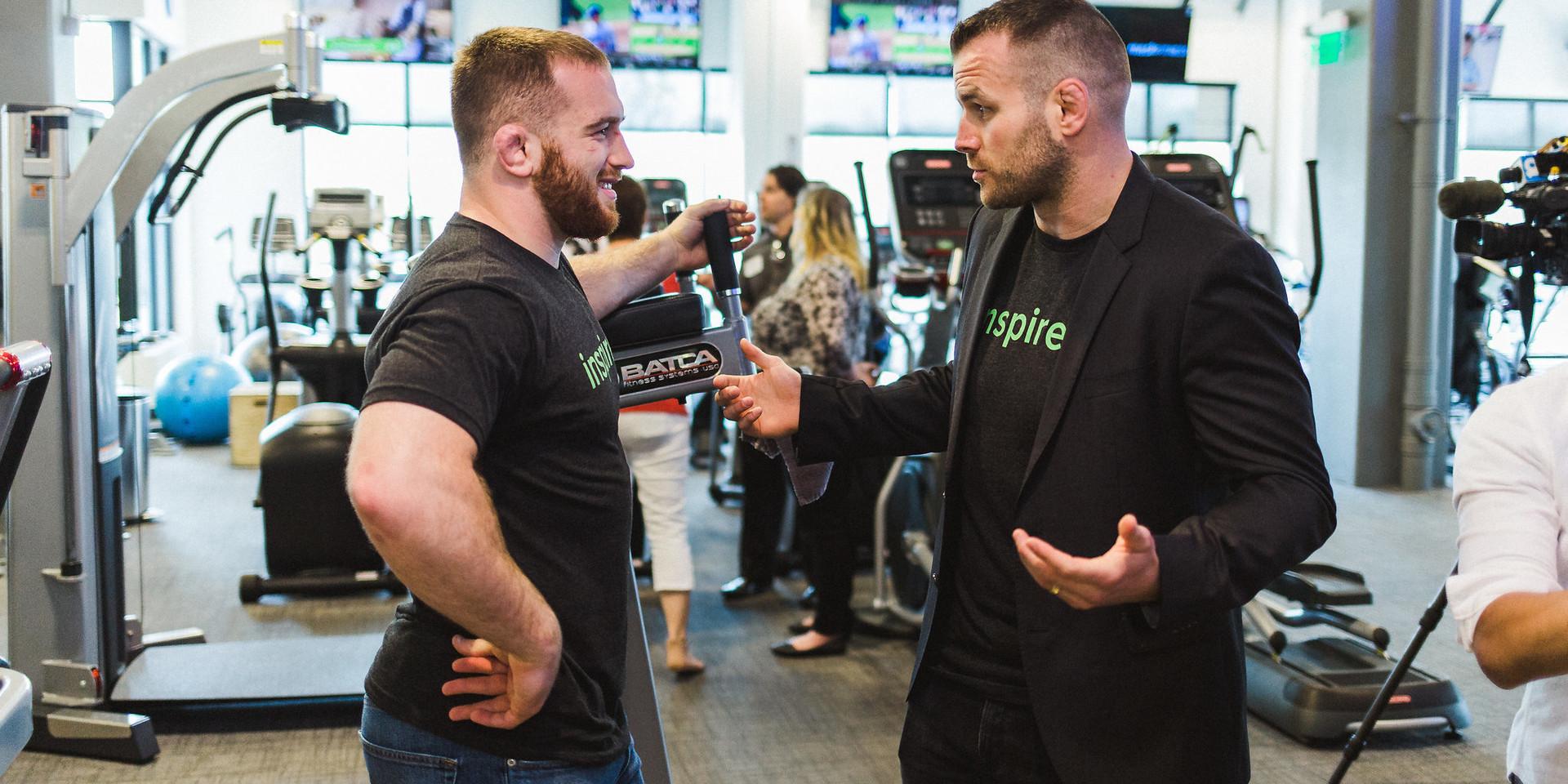 inTeam inspiration Meet & Greet - Mesh Fitness
