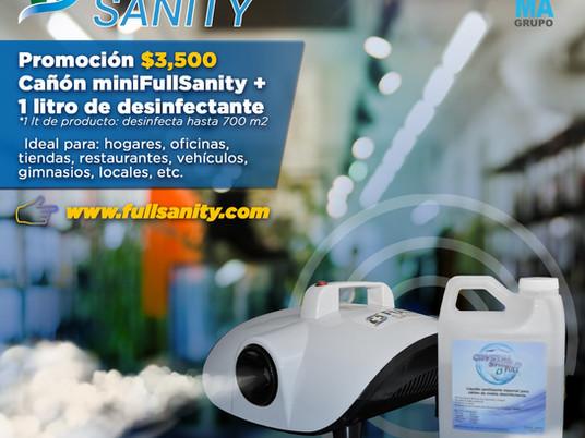 Desinfección Profesional                    Mini FullSanity