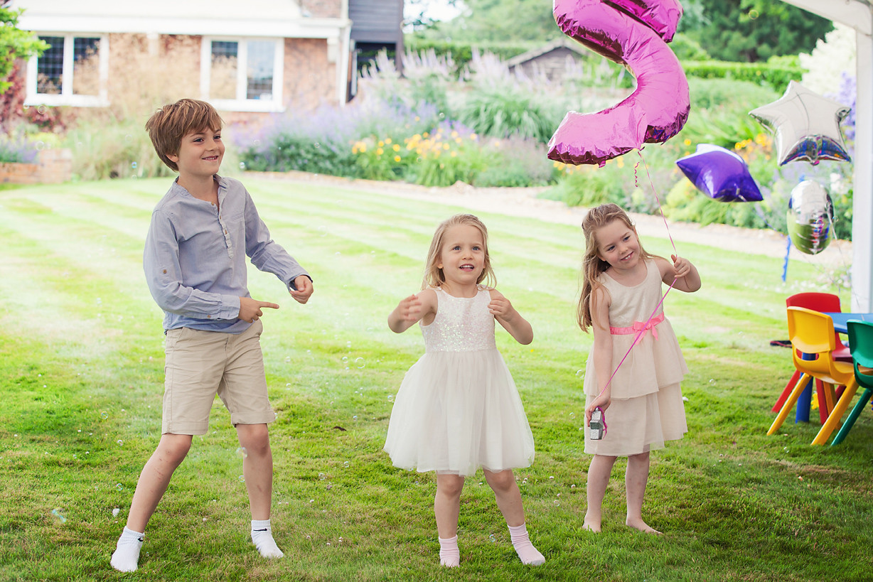 5th Birthday Party with sister