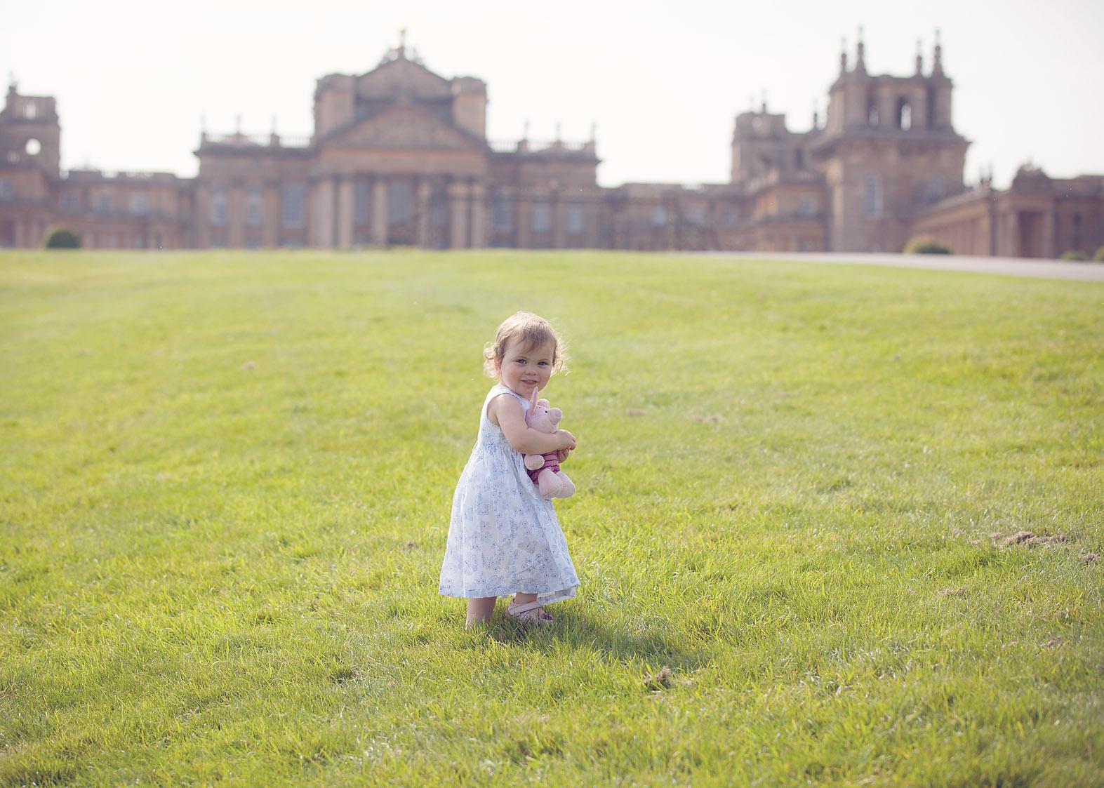 Pretty Girl Blenheim Palace