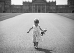 Girl with teddy Blenheim Palace