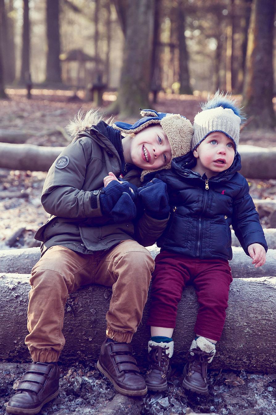 Boys in Wendover Woods