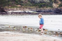 Boy in the Sea Cornwall