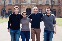 Family Photo Waddesdon Manor Front