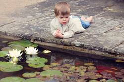 Boy watching Fish Henley