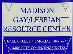 Madison Gay Lesbian Resource Center Logo