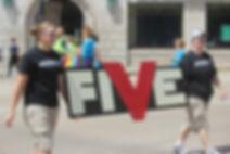 FIVE Pride 2016