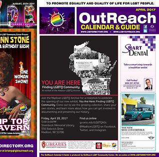 Recent Calendar & Guide Cover