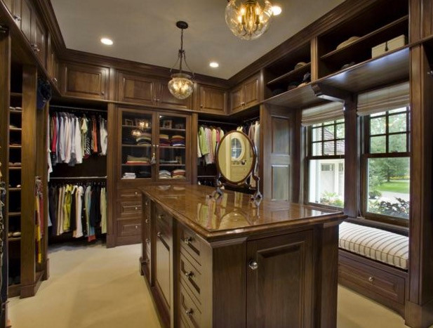 Dress Closet Lighting Solution