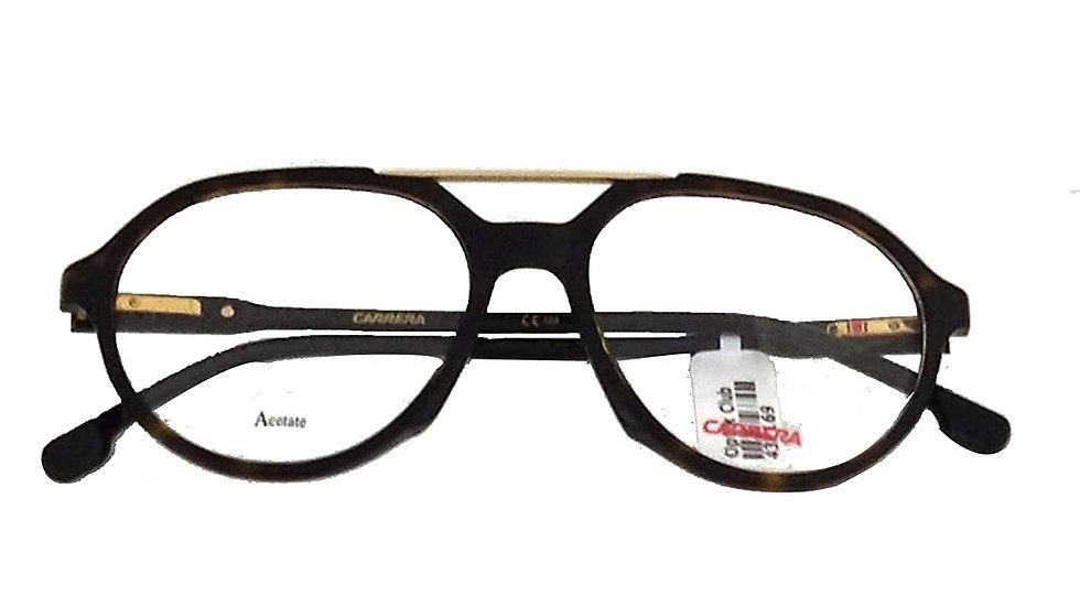 Carrera CA174 086 5219 Unisex Full Rim Aviator Spectacle Frame Sunglasses