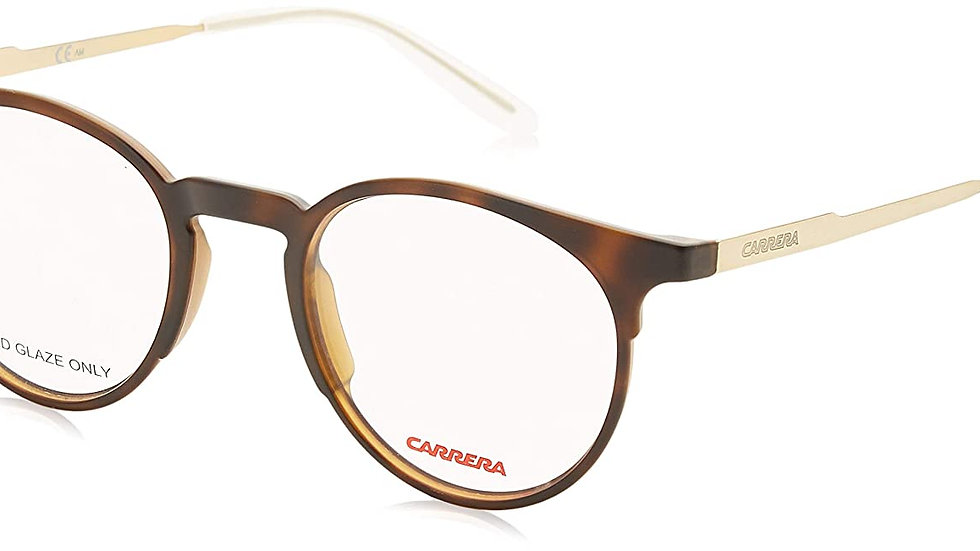 Carrera Full Rim Round Unisex Spectacle Frame - (CA6665 0KS 4721|47)