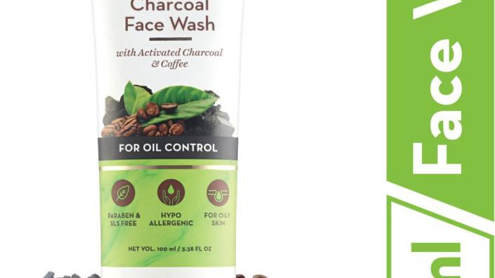 Mamaearth Charcoal Natural for oil control and pollution defence 100 ml