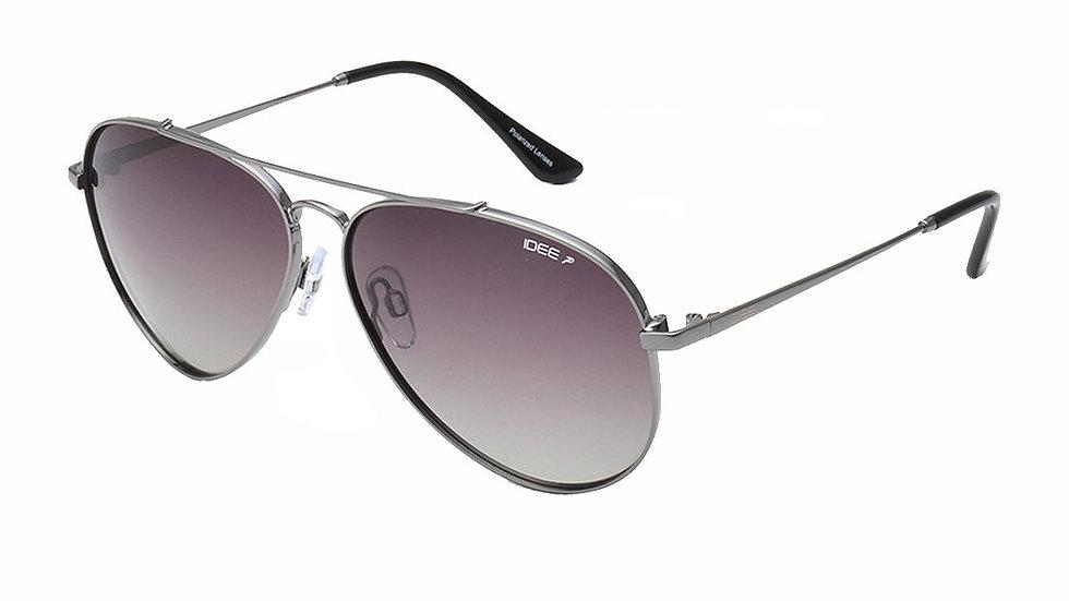 Idee - Grey Aviator Sunglasses ( S-2427-C7P-61 )