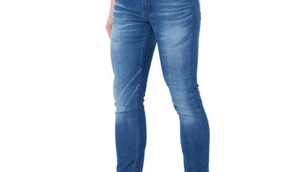 Men's Denim Dark Blue Skinny Jeans