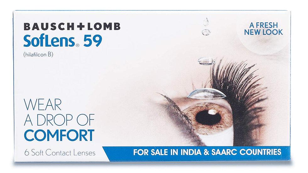 Soflens 59 (6 Lens per Box) Bausch & Lomb