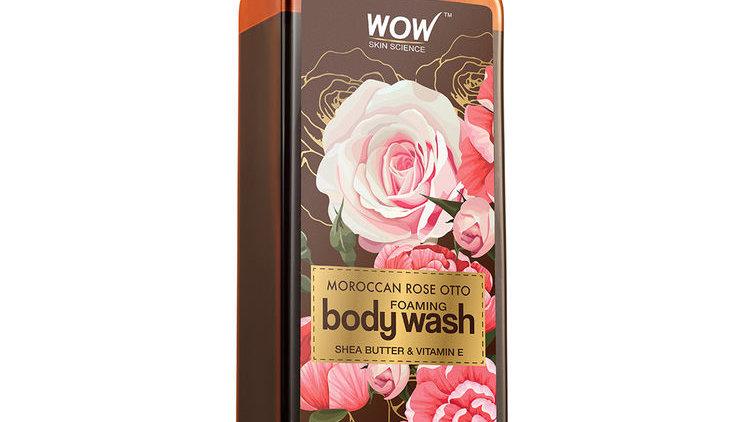 WOW Skin Science Moroccan Rose Otto Foaming Body Wash (250ml)