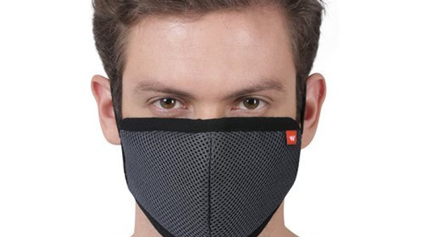 Wildcraft Hypa Shield W95 Reusable Protection Face Mask - Pack of 3