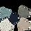Thumbnail: Richman 3 Layer Designer Face Mask - Pack of 5