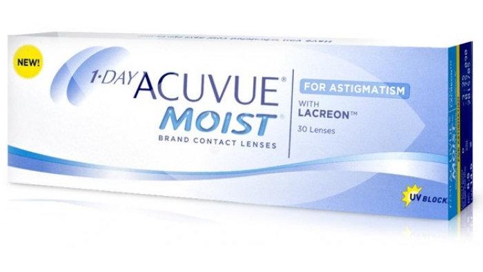 Acuvue Moist 1 Day for Astigmatism (30 Lenses / Box) - Johnson & Johnson