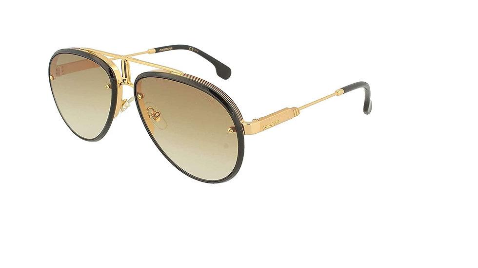 Carrera Gradient Aviator Unisex Sunglasses - (CARRERA GLORY 2M2 5886|58|Brown