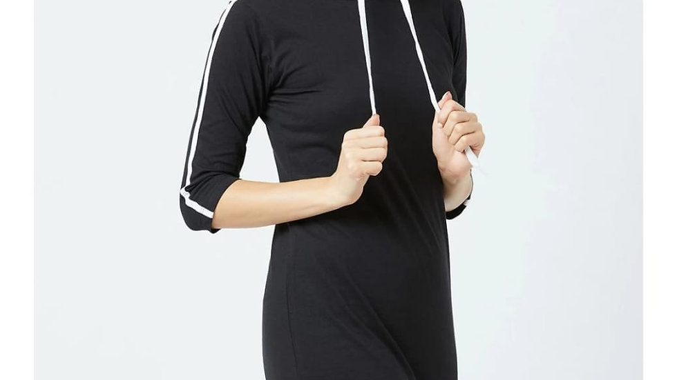 Fashtantic Sheath Checkered Knee Length Dress