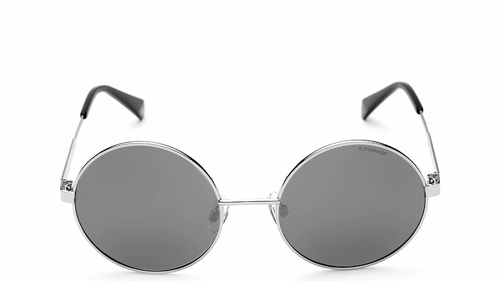 Polaroid Women Mirrored Round Sunglasses 4052/S 010 55EX