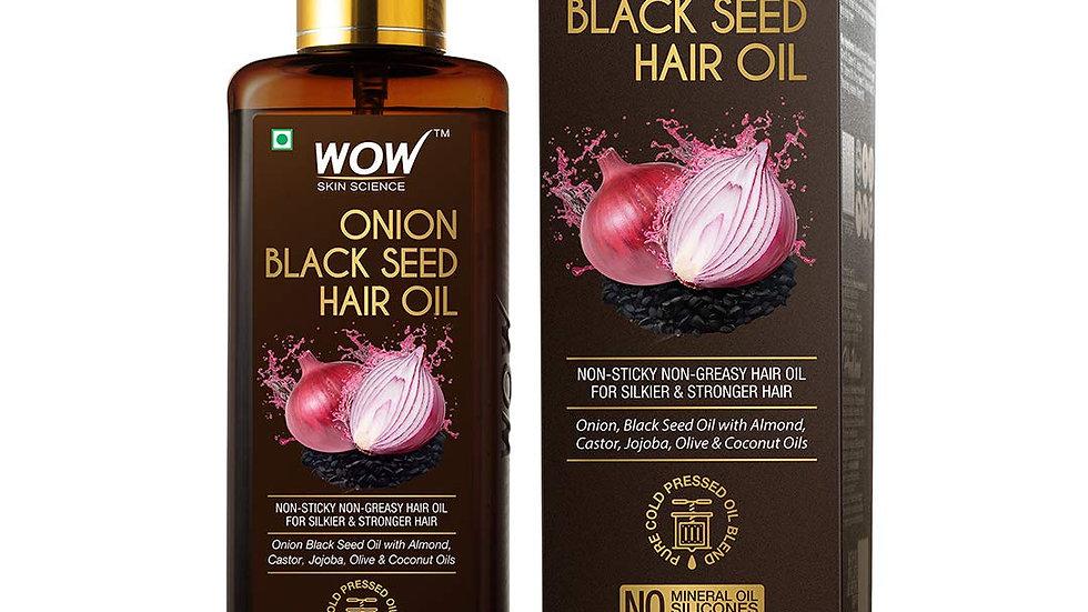 WOW Skin Science Onion Black Seed Hair Oil