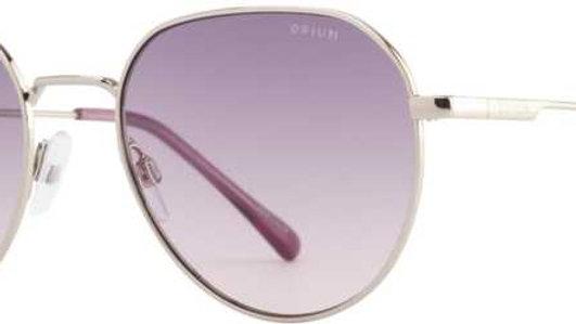 Opium  UV Protection Rectangular Sunglasses (54)  (Violet)