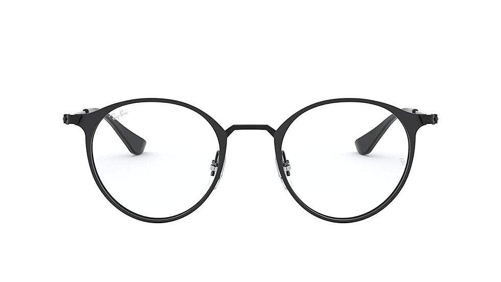 Ray-Ban Phantos Unisex Optical Frames (0RX6378 49 mm Transparent)