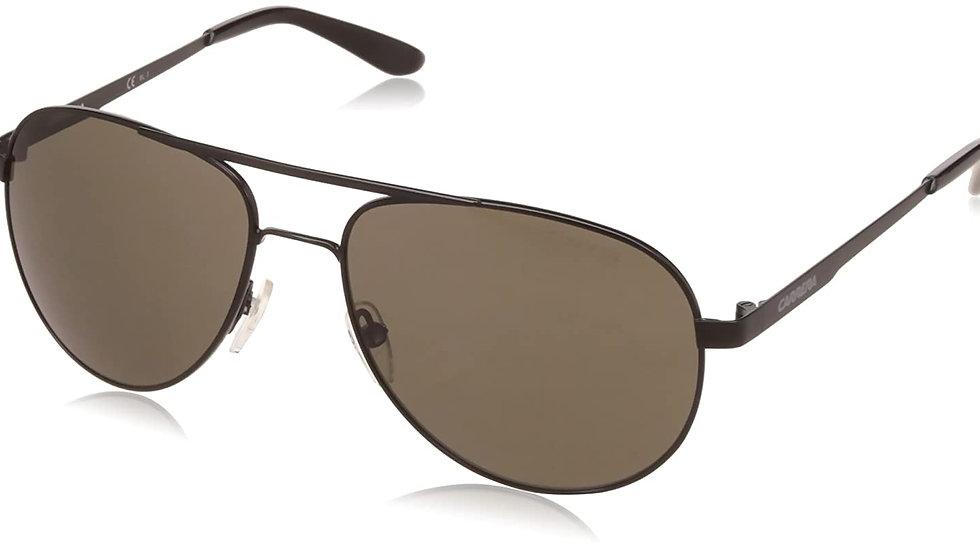 Carrera UV Protected Aviator Men's Sunglasses - (CARRERA 9916/S 003 57NR|57|Blac